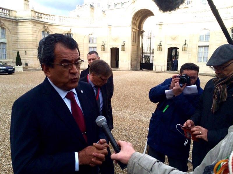 Edouard Fritch, Président du gouvernement de la Polynésie française ©TF