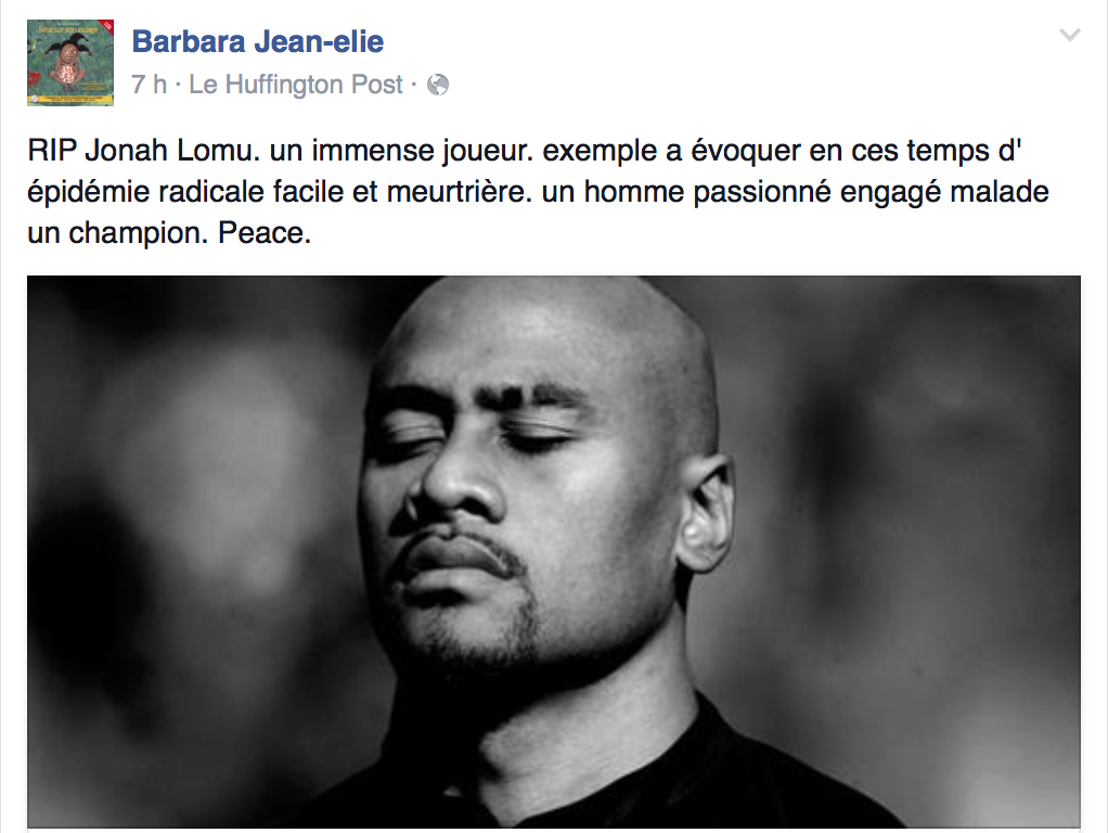 jonah lomu, hommage, sport , rugby