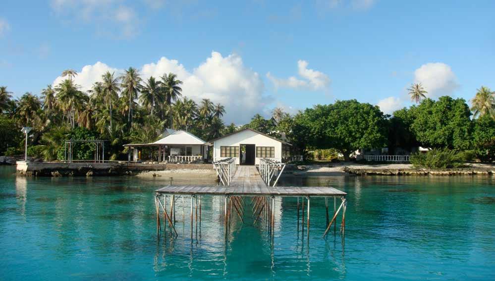 Une ferme perlière sur l'atoll de Fakarava dans l'archipel des Tuamotu ©Tahia Pearls