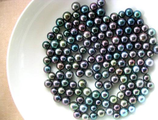 La Perle de Tahiti est réputés pour sa qualité et son lustre incomparable ©Service de la Perliculture