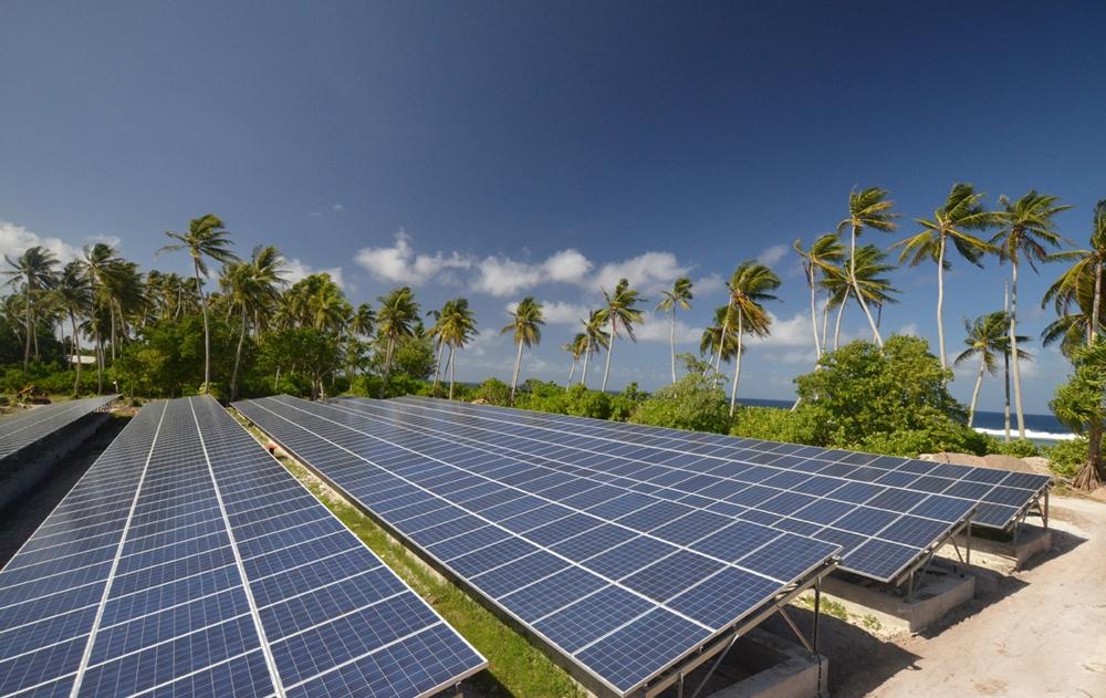 L'archipel investit principalement dans les énergies solaires et éoliennes ©powersmartsolar