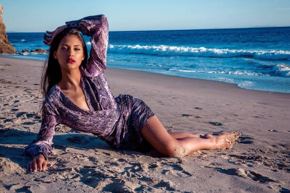 Hinarere Taputu défendra les couleurs de la France à l'élection Miss Monde 2015, demain ©DR