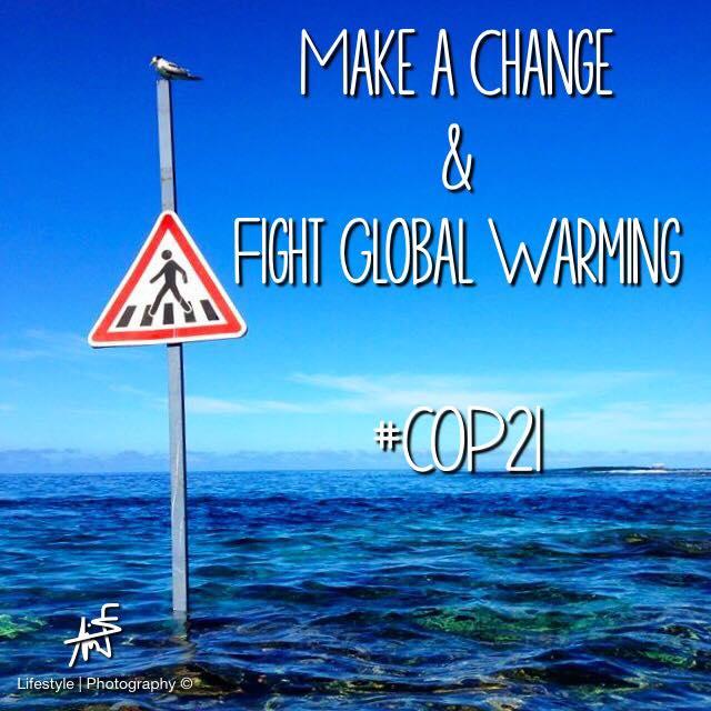 """""""Nous parlons trop ! Il est temps maintenant de prendre les décisions et d'agir pour combattre le réchauffement climatique ! Nous, insulaires, sommes les premiers concernés. Faisons entendre notre voix"""" ©Maui Neri"""