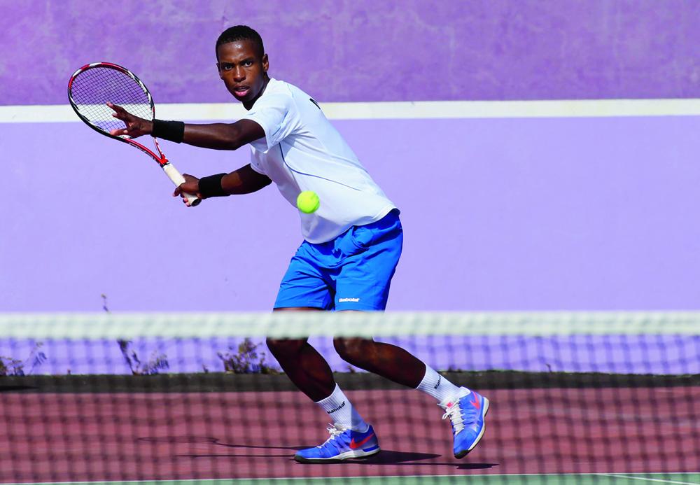 Ali Abdoul-Karim lors des Jeux des Îles de l'Océan Indien (© Clicanoo)
