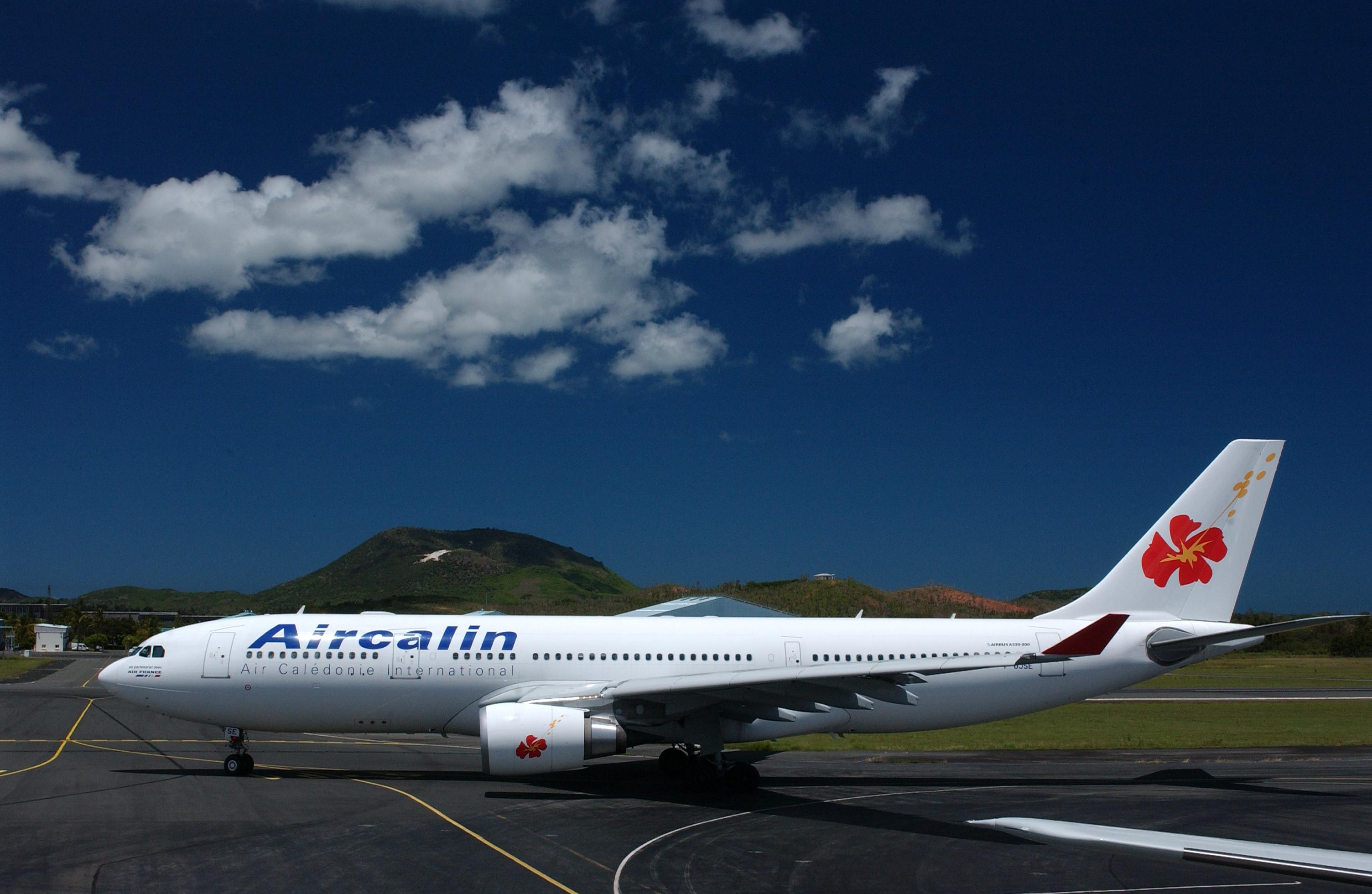 La compagnie Aircalin, qui assure les rotations internationales et domestiques de Wallis et Futuna, pourra reprendre ses vols en direction de l'archipel ©Air Valid