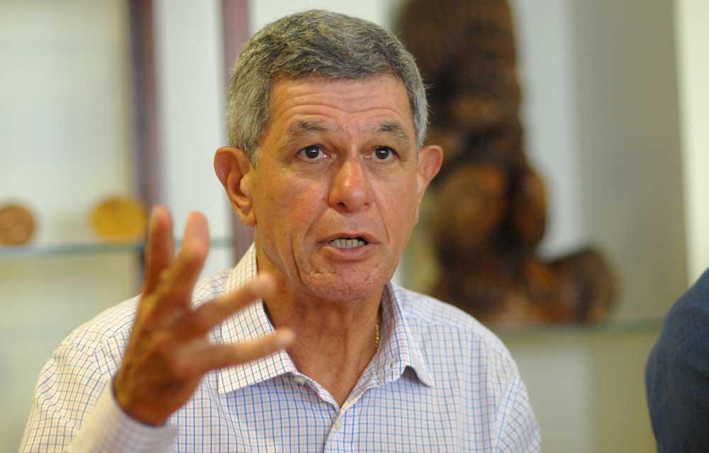 Pierre Frogier, Sénateur de la Nouvelle Calédonie et membre du Conseil d'administration d'Eramet, en appelle à l'Etat ©Nouvelle Calédonie 1ère