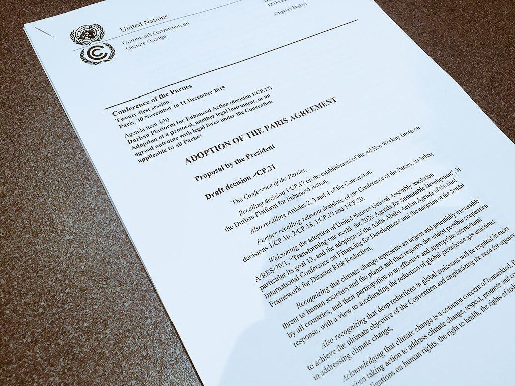 COP 21: Le projet d'accord de Paris signe la victoire des petites îles