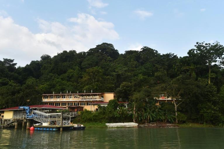 Une communauté scientifique internationale a élu domicile sur l'île, afin d'étudier sa biodiversité ©Rodriguo Harangua / AFP
