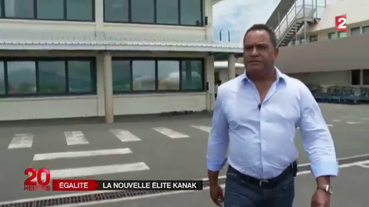Samuel Hnepeune, Kanak et PDG d'Air Calédonie ©France2