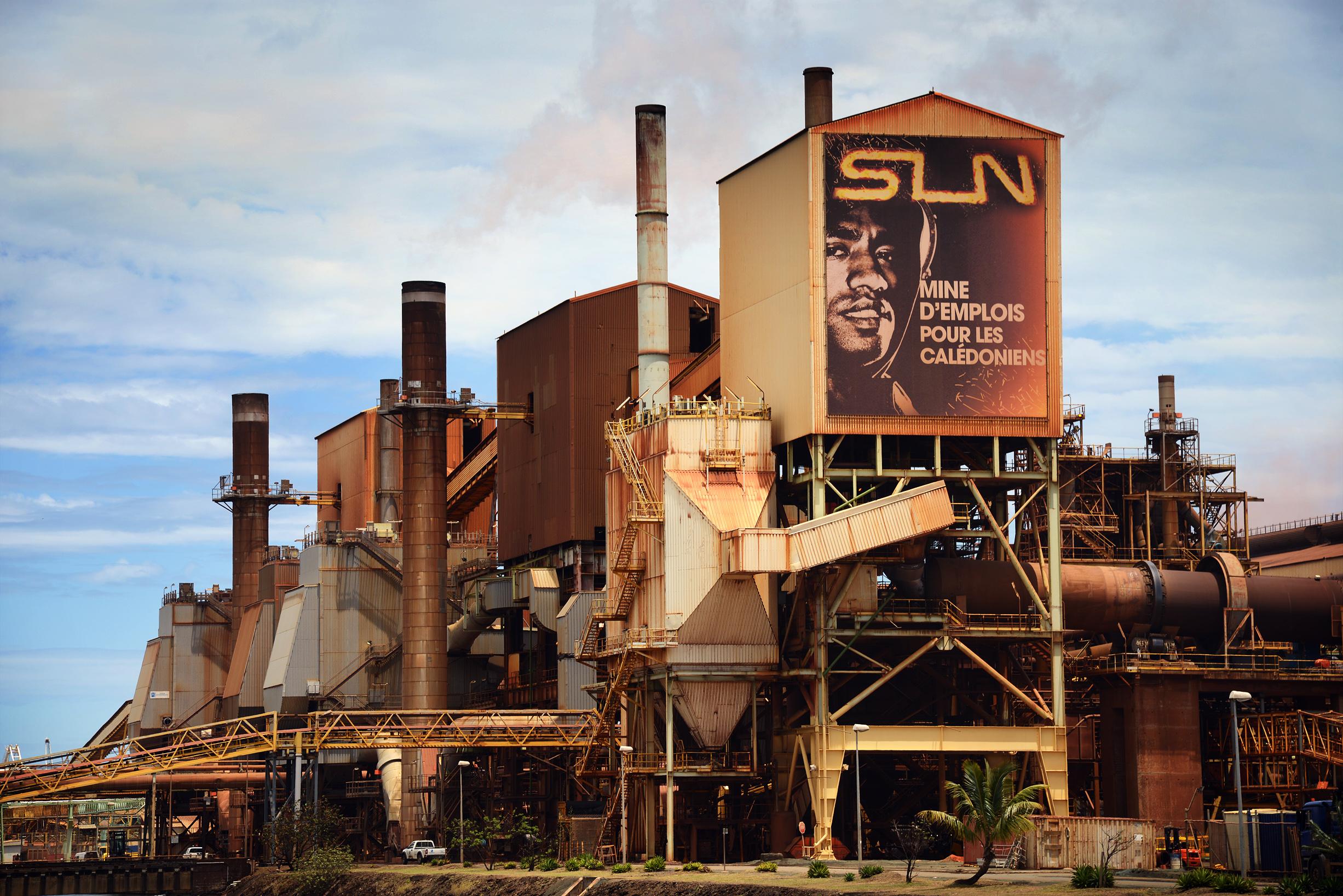 Nickel : «Il faut que l'Etat assure le contrôle de la SLN»