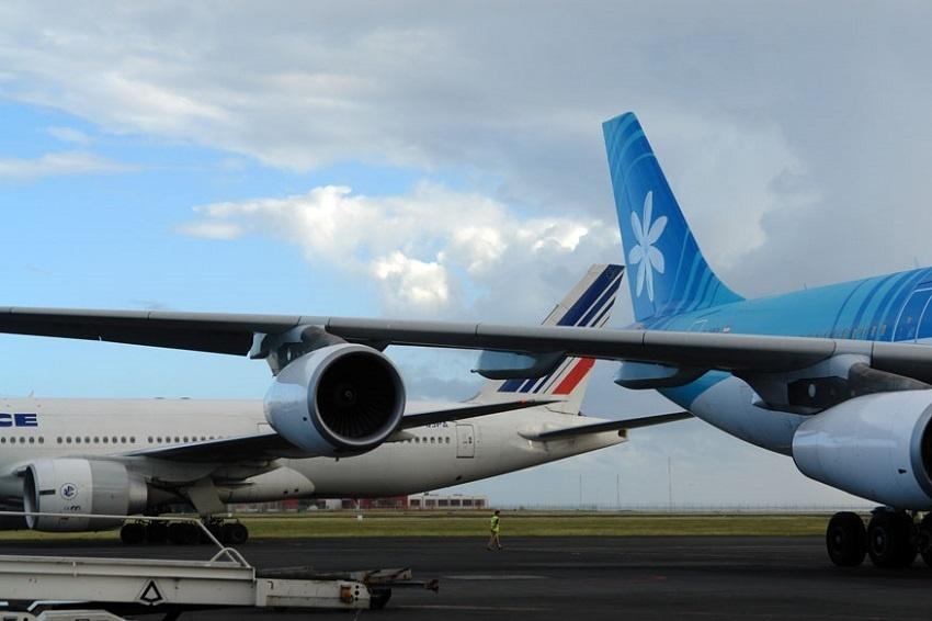 Des perturbations dans le ciel polynésien avec un manque de PNT chez Air Tahiti Nui et un prévis de grève chez Air France ©Tahiti-infos