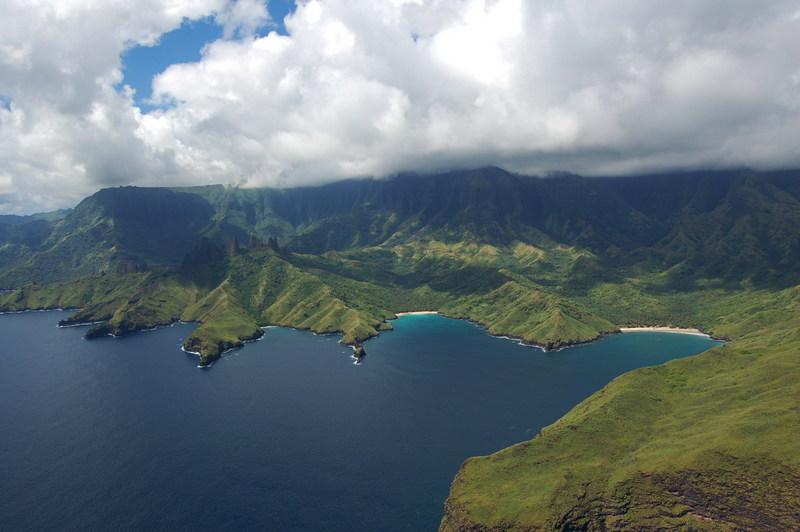 La Baie de Hakaehu sur l'île de Nuku Hiva ©Tahiti Nui Blog