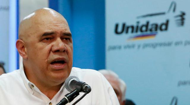 Jesus Torrealba, tête de file de l'opposition vénézuélienne ©Prodavinci