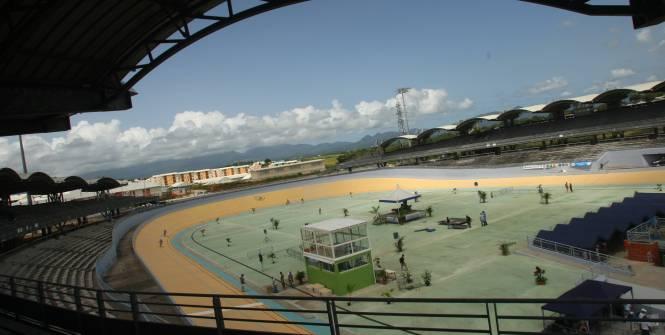 Le vélodrome Amédée-Détraux à Baie-Mahault va accueillir la Coupe Davis. (Pochat-archives L'Equipe)