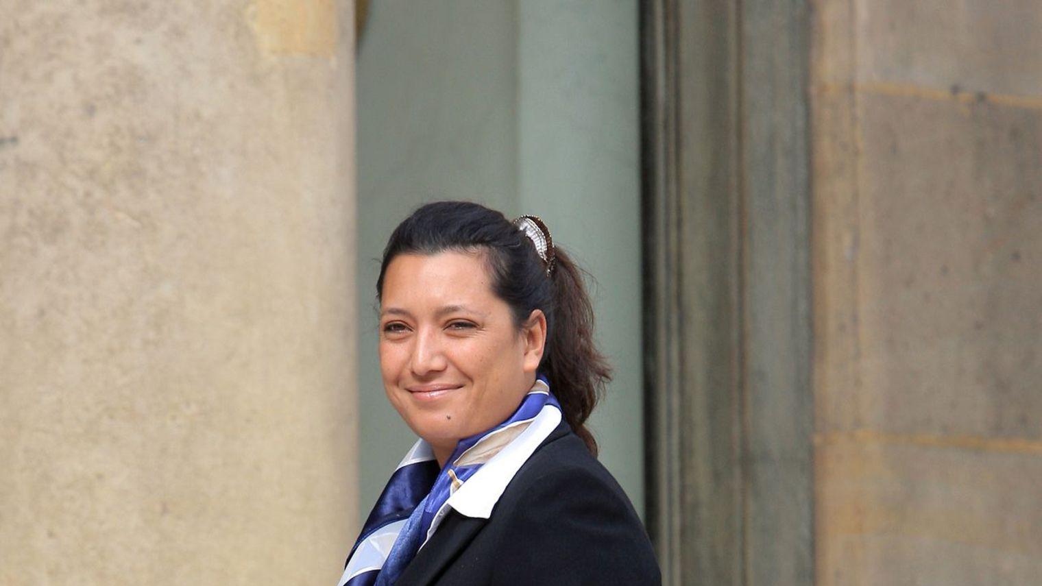 Maina Sage à l'Elysée ©AFP.COM