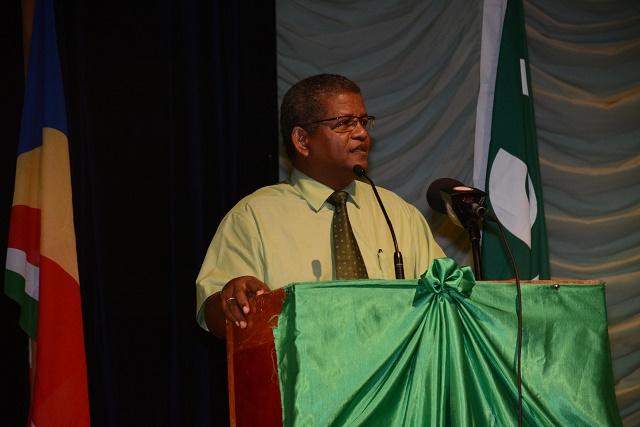 Wale Ramkalawan, chef de l'opposition, est arrivé avec 49,85% du suffrage. Il a d'ores et déjà annoncé saisir la commission électorale pour un recomptage des voix ©CC-BY