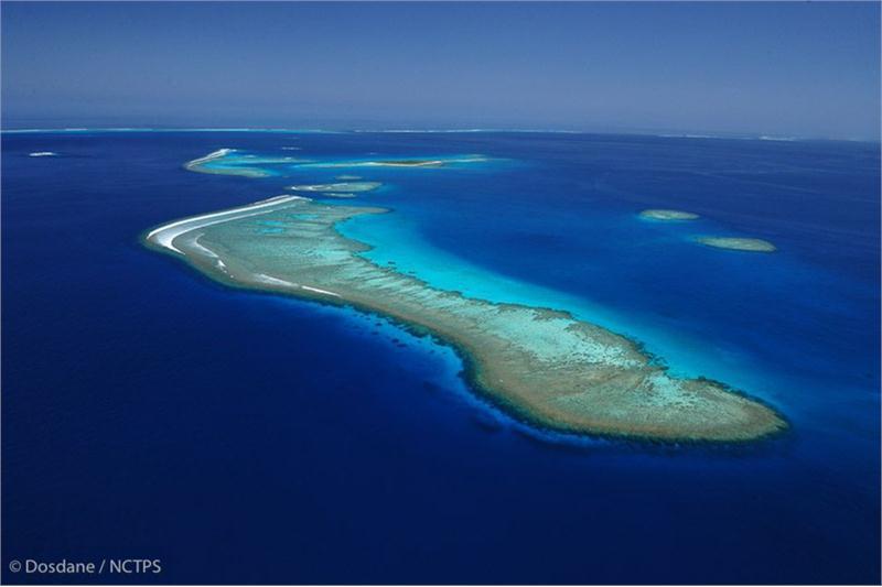 La Nouvelle-Calédonie possède la deuxième barrière de corail la plus longue au Monde, après celle d'Australie ©Dosdane
