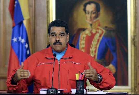 Nicolas Maduro, successeur d'Hugo Chavez, est accusé d'avoir mené le Venezuela dans une crise économique des plus dures ©Presidencia / AFP