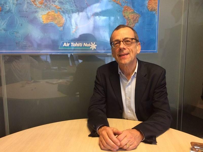 Jean-Paul Tourvieille, Directeur général de l'ACCIOM, attend non sans patience que la Ministre de la Justice veuille bien signer la convention qui permettra le transfert des RCS en Outre-mer ©TF