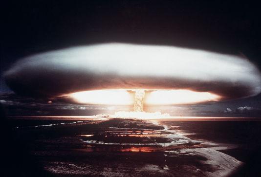 Entre 1966 et 1996, 193 tirs nucléaires, aériens et souterrains, ont été effectués en Polynésie française, sur les atolls de Moruroa et Fangataufa ©Archives / DR