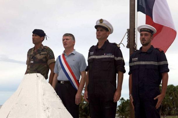 Le député du Tarn, Philippe Folliot s'était déjà rendu sur l'atoll de Clipperton en Avril 2015 ©DR