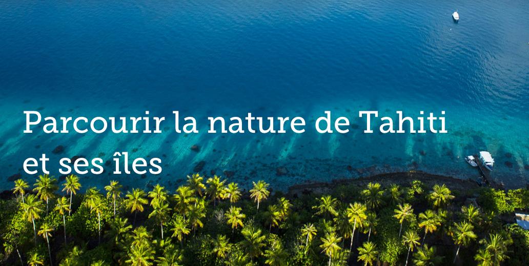 La Polynésie côté nature, un des leitmotiv du site Tahiti Heritage ©Capture d'écran Tahiti Heritage