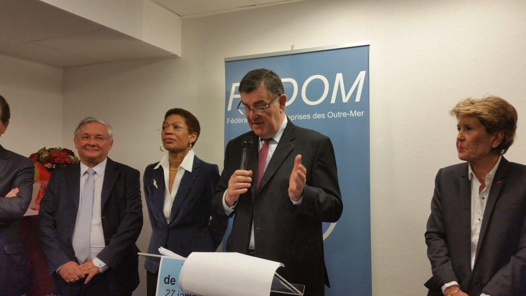Jean-Pierre Philibert, Président de la FEDOM : «Donner aux entreprises d'Outre-mer les moyens d'investir»
