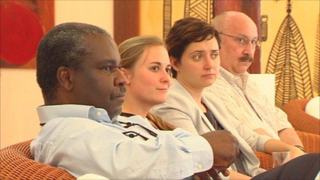 Les quatre représentants de l'ON, en mission d'une semaine en Nouvelle-Calédonie, ont préparé l'arrivée des 13 observateurs missionnés par les Nations-Unies ©NC 1ère