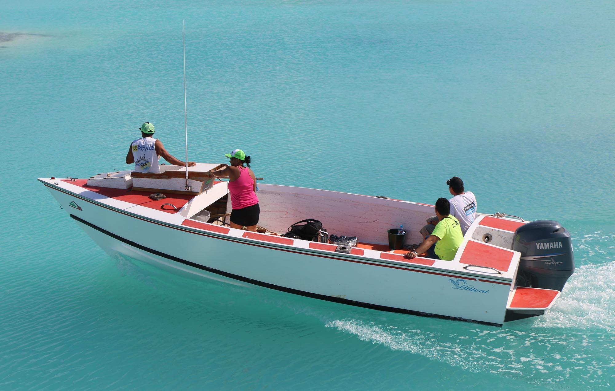 C'est à bord d'une embarcation similaire, appelée poti marara, que Tavae dériva durant 118 jours au milieu du Pacifique sud ©Lady Bora Bora