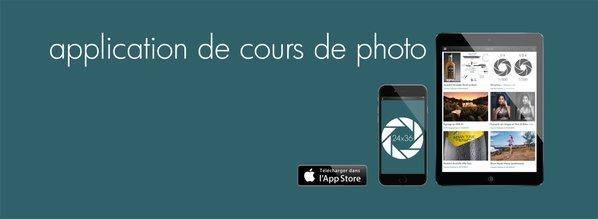 L'application 24x36 est disponible sur l'App Store depuis mi-décembre. La version Androïd ne devrait pas tarder ©DR