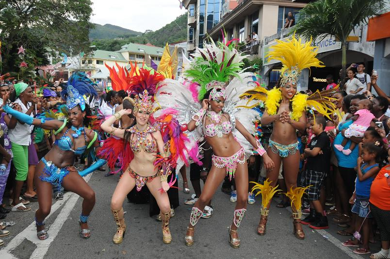 Le Carnaval de Victoria est devenu en l'espace de 5 ans, un évènement international incontournable dans l'Océan Indien ©DR