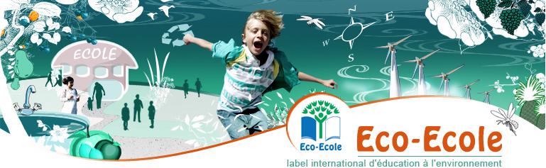 """Le label européen """"Eco-école"""", détenu par cinq établissement scolaires ultramarins, dont l'école 2+2=4 en Polynésie française ©DR"""