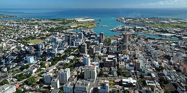Port-Louis, capitale administrative mais aussi centre économique de Maurice