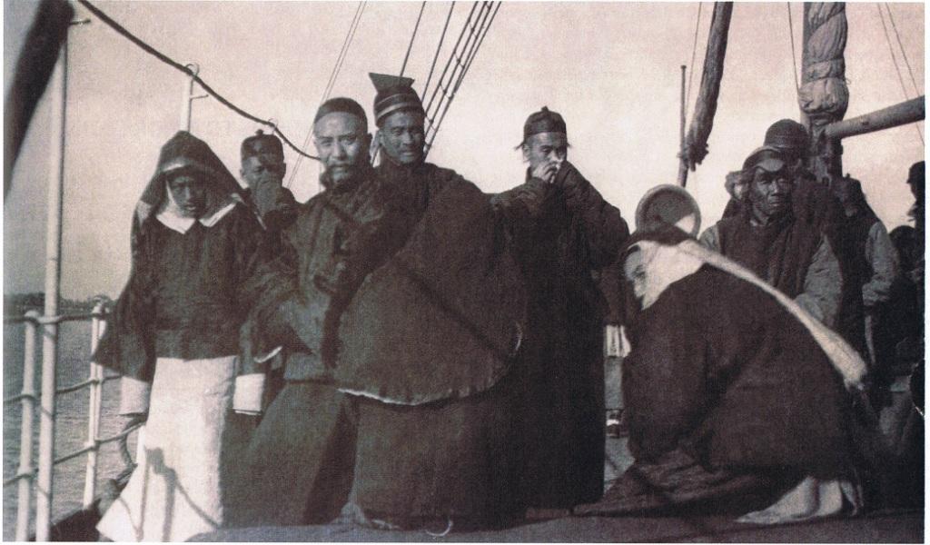 Les Chinois arrivent à Tahiti au XIX° siècle afin d'être employés à des travaux agricoles ©Reva Tahiti