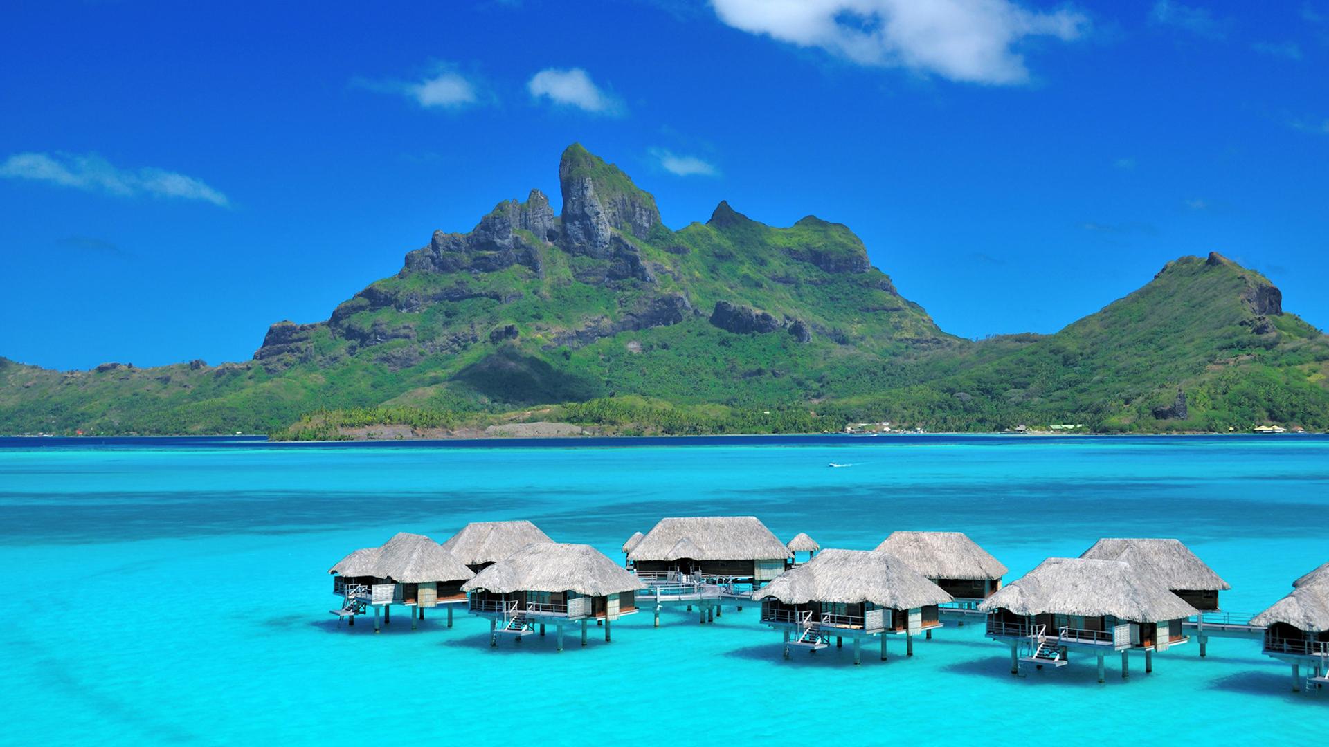 Bora Bora, Polynésie française ©DR