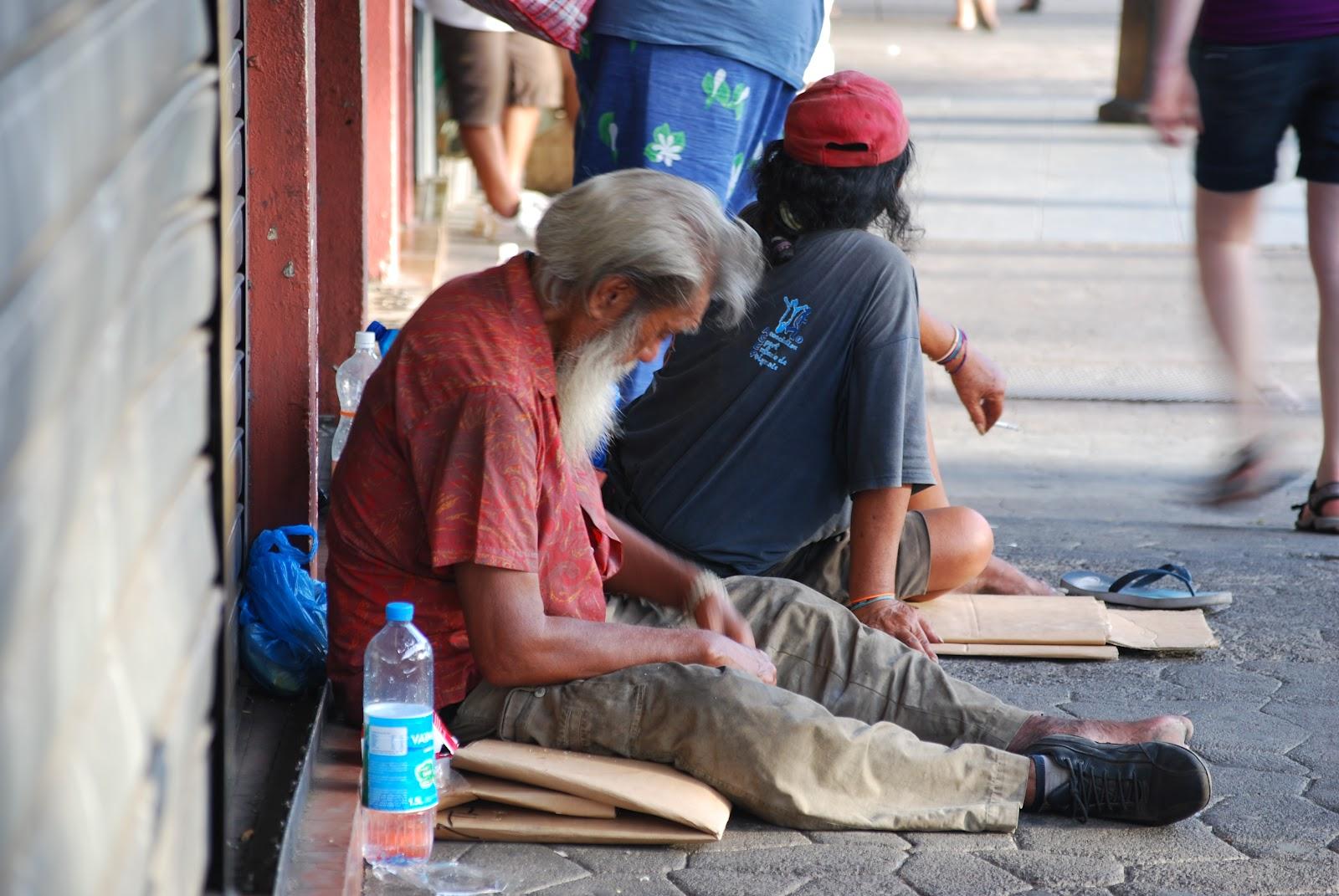 En Polynésie, 55% de la population vit sous le seuil de pauvreté ©Tahiti-infos