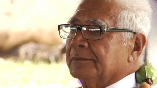 Eufenio Takala, du clan des Keleta'ona, nouveau Roi de Sigave ©Wallis et Futuna 1ère