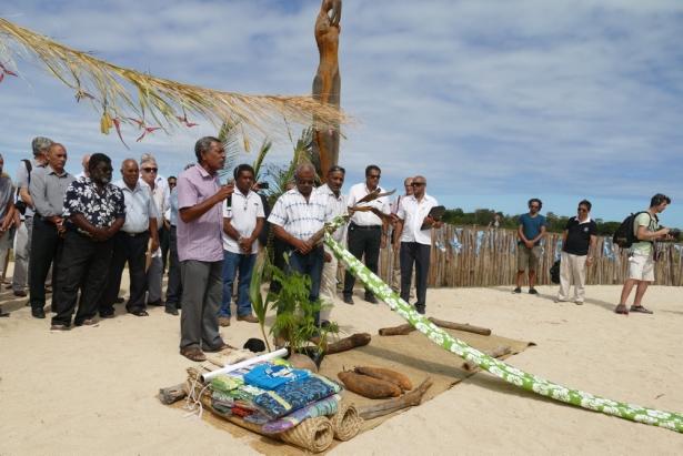 Une cérémonie traditionnelle a été organisée pour ouvrir le sommet Oceania 22 ©Gouvernement de la Nouvelle-Calédonie
