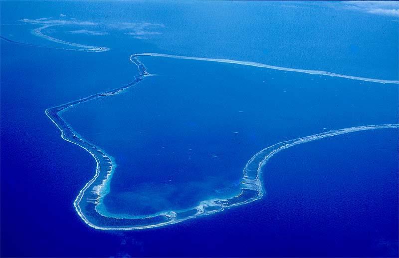 C'est sur l'atoll de Hao, dans l'archipel des Tuamotu en Polynésie française que la ferme aquacole doit être implantée ©DR