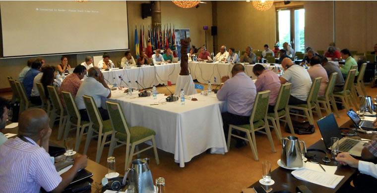 Première table ronde du 11 avril ©Gouvernement de la Nouvelle-Calédonie