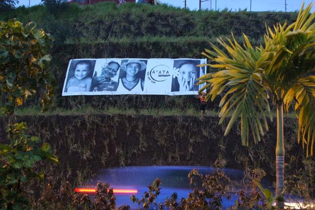 Polynésie française : Des sourires contre la violence