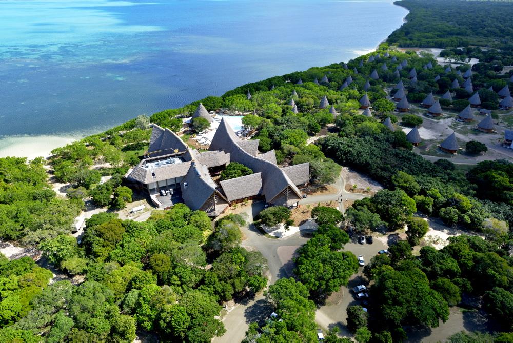 La commune de Bourail s'est lancée dans le développement du secteur touristique, ici, l'Hôtel Deva Sheraton ouvert en 2014 ©Province sud