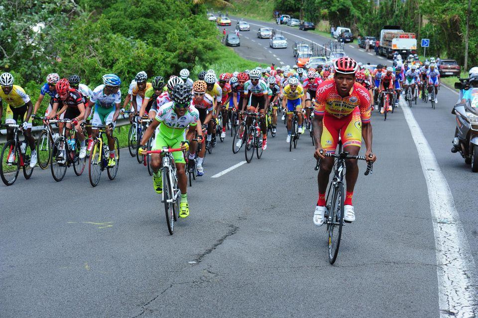 C'est sur la dernière étape du Grand Prix de la Communauté d'agglomération du Nord Basse-Terre (CANBT) en Guadeloupe que le premier cas de dopage aux hormones de croissance a été détecté ©Dominique Chomereau-Lamotte