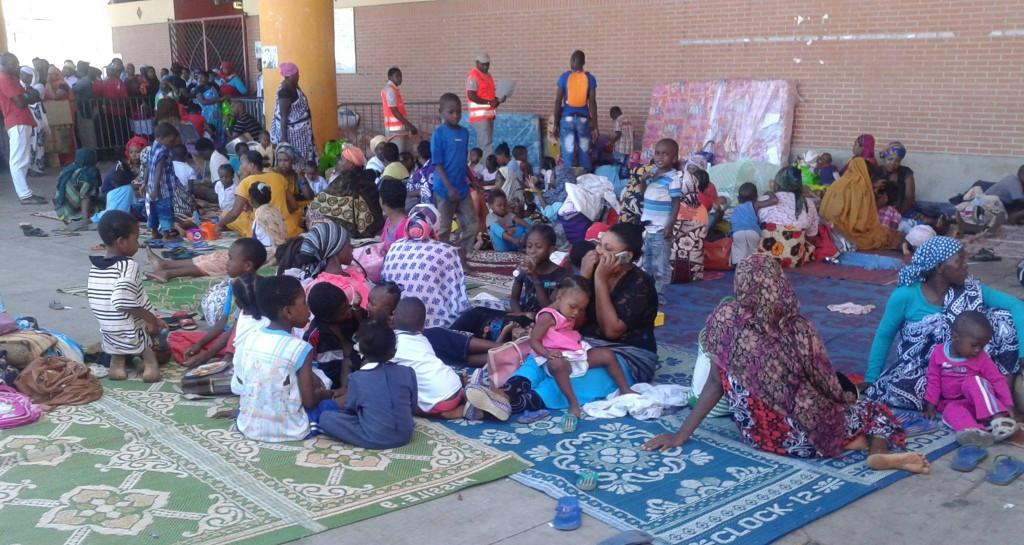 Parmi les étrangers expulsés, beaucoup de femmes et d'enfants © Mayot'News