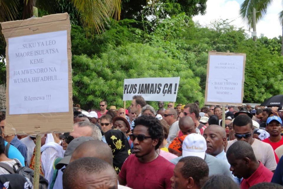 Mayotte, 101ème département de France, traverse une crise économique et sociale sans précédent ©Ornella Lamberti / AFP