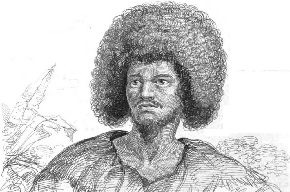 L'arii Pomare 1er, chef du district de Pare, au moment des premiers contacts ©Tahiti Heritage