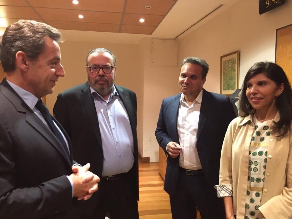 Rencontre avec Didier Robert, président de la région ©Les Républicains