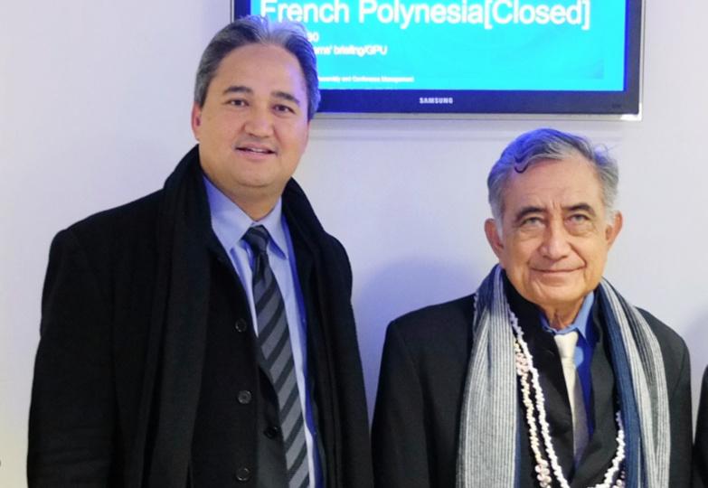 Le 17 mai 2013, les indépendantistes polynésiens ont obtenu la réinscription de la Polynésie française sur la liste onusienne des pays et territoires à décoloniser ©La Dépêche de Tahiti