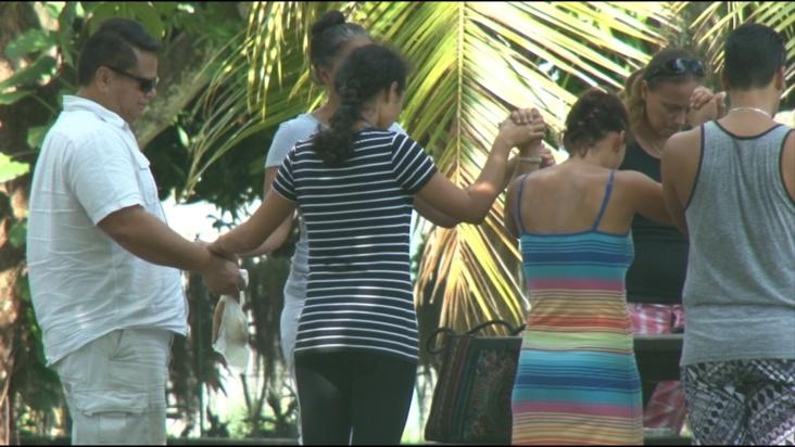 La famille, les proches, les autorités et beaucoup de polynésiens ont redoublés d'efforts pour retrouver Matariki ©TNTV