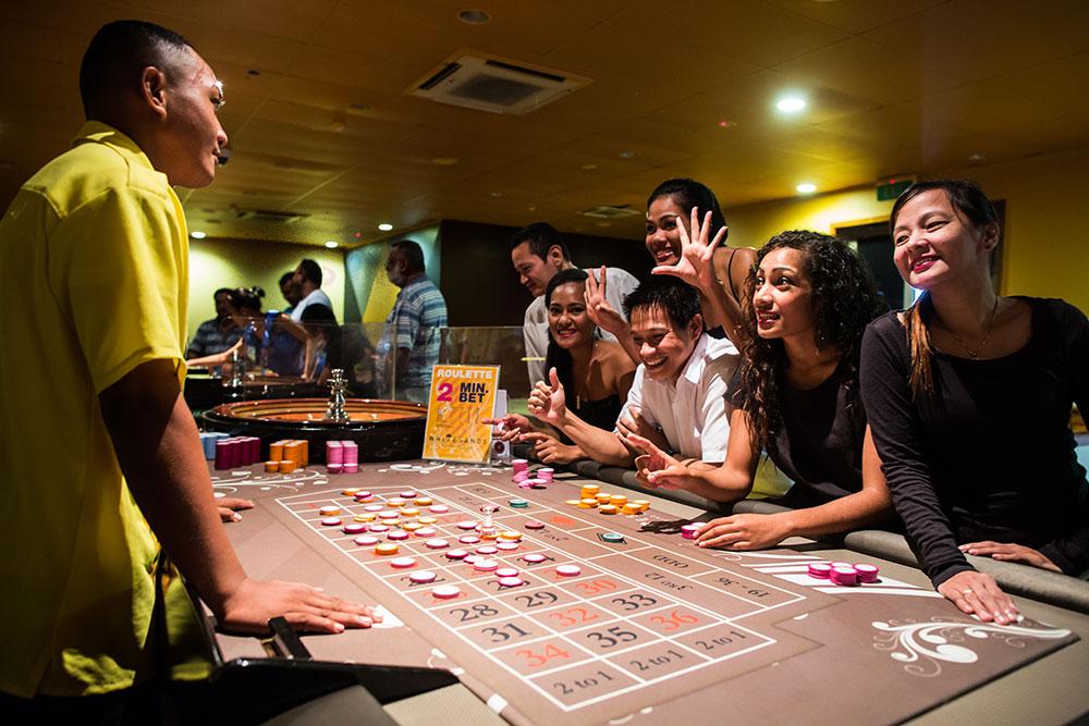 Un casino aux îles Samoa. Le gouvernement polynésien réfléchi aussi à l'implantation d'un casino, mais les Eglises affichent une opposition farouche, culturelle et historique ©DR